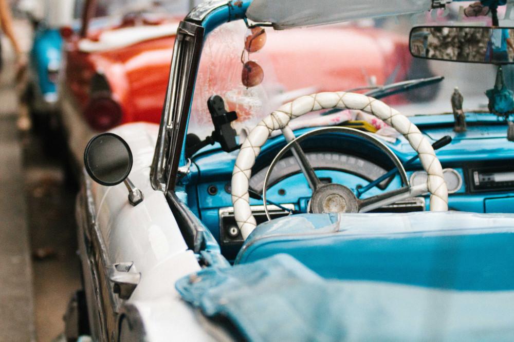 Havana old car