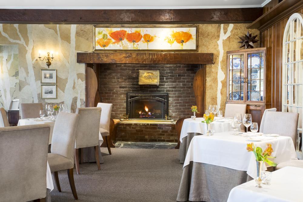 Le Hatley restaurant Manoir Hovey