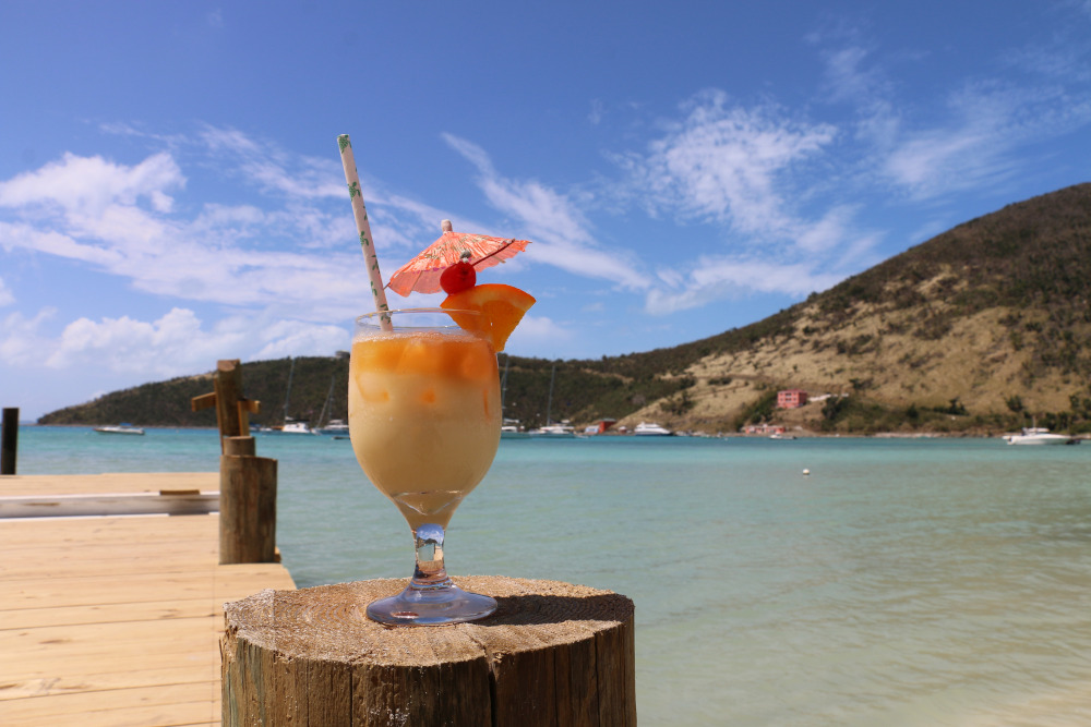 BVI Painkiller cocktail recipe