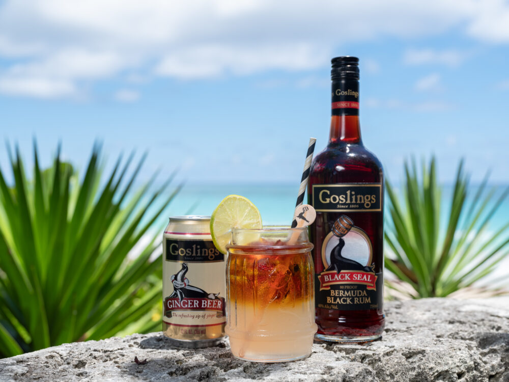Dark 'n Stormy cocktail recipes
