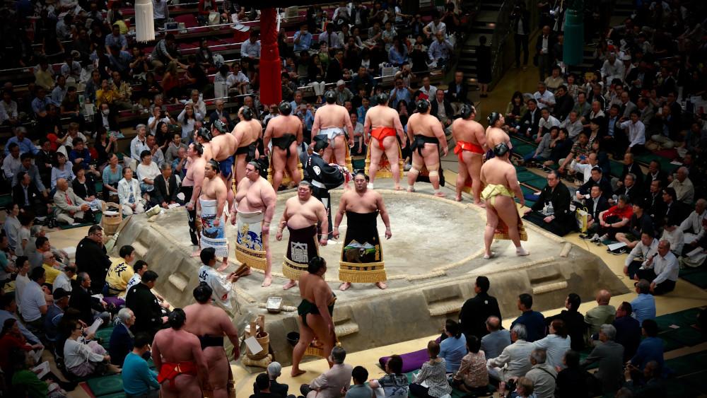 sumo wrestling championship