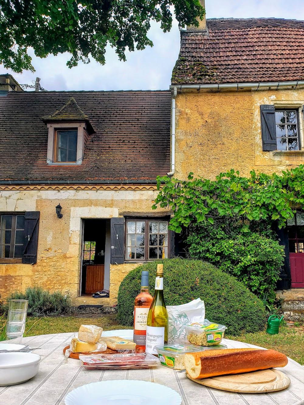 Lunch at La Vielle Maison