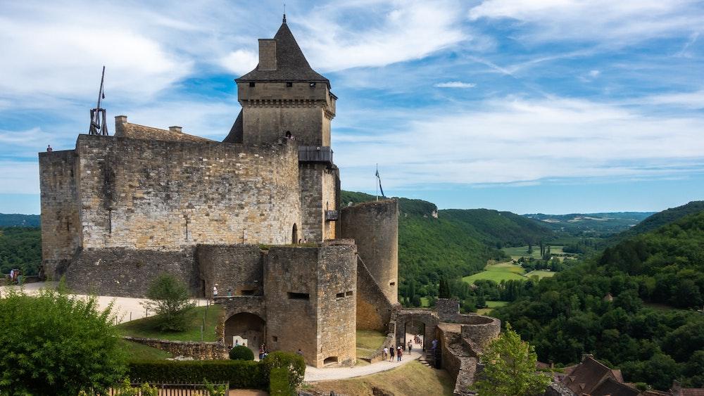 Castelnaud castle