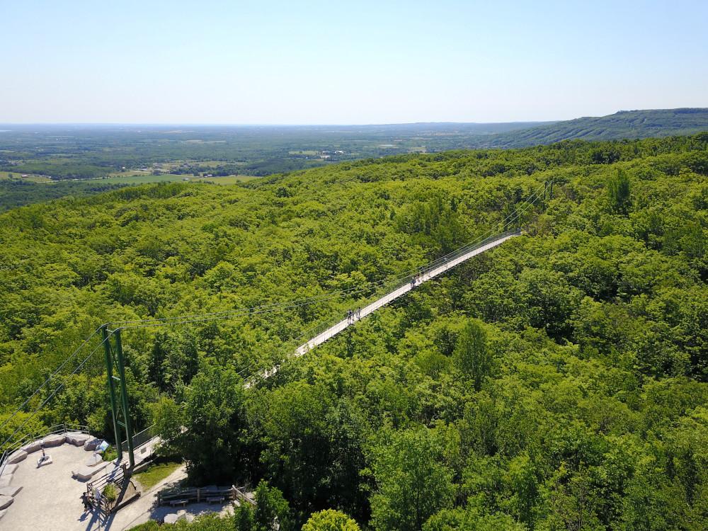Southern Ontario's longest footbridge